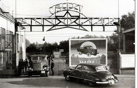 A Csepel Autógyár emléke Tökölről